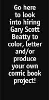 Hire Gary Scott Beatty to color, letter your comic book project