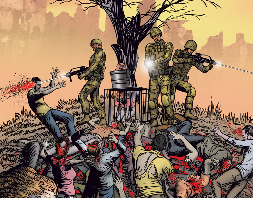 Zombies' End graphic novel by Gary Scott Beatty